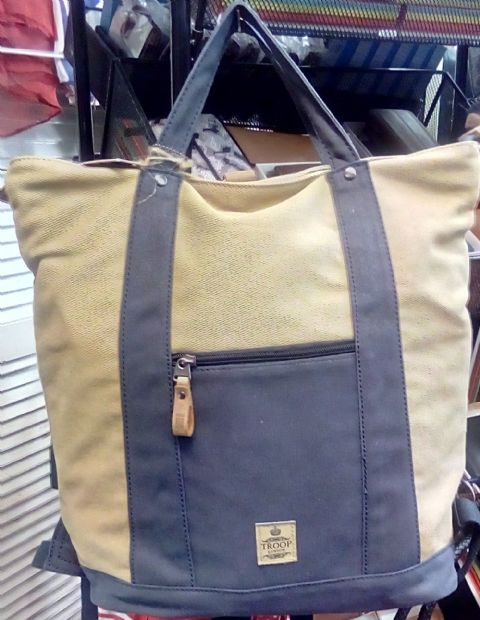 The Deep Shopper and Backpack Rucksack